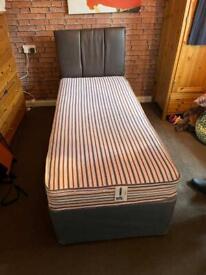 """2'6"""" Single Divan Bed"""