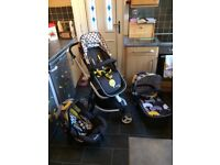 Cosatto Giggle pram/buggy travel system
