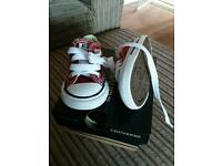 Baby converse size 3. Brand new