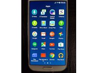 S4 Galaxy Mobile Phone Excellent Condition White