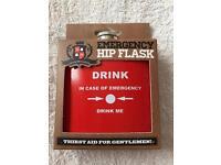 Emergency Hip Flask