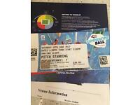 Summertime ball June 10th Wembley 1 ticket pitch standing
