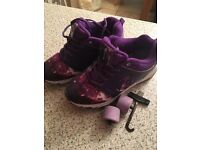 Girls heelies great condition
