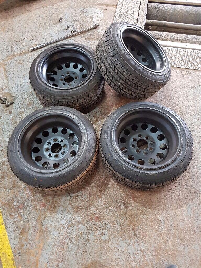 Weller Wheels Not Alloys 13 Inch 8j Steelies Deep Dish Not