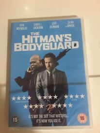 New and Sealed Hitman's Bodyguard DVD