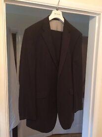 Black suit 44 long Baulmer