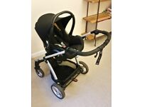 **Good Used Condition** Mamas & Papas Sola2 Stroller + Maxi-Cosi Cabriofix Car Seat + extras