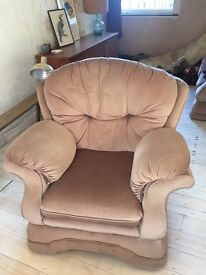 Free To a Good Home 3 Seater Sofa And Armchair