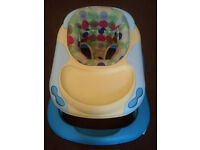 BABY WALKER, MOTHERCARE, CHICCO, IN VERY GOOD CONDITION, ADJUSTABLE SEAT