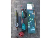 Bosch multi tool unit + hedge trimmer attachment