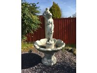 Rebecca Water Garden Feature - with new water pump - Can deliver