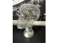 Skull lamp bulb light