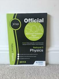 National 5 Physics revision textbooks X3