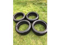 Dunlop Winter Sport 3D Tyres 18/235/40 (Set of 4).