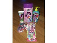 My little pony bath set