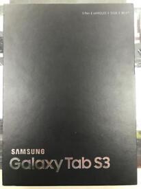 Samsung galaxy Tab S3 32gb black