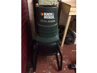 Black & Decker Electric Garden Shredder for sale