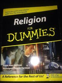 Religion book for dummies