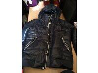 New G STAR dark blue size L coat