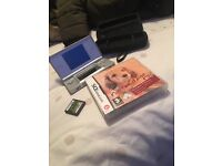Nintendo Ds lite with two games and case!