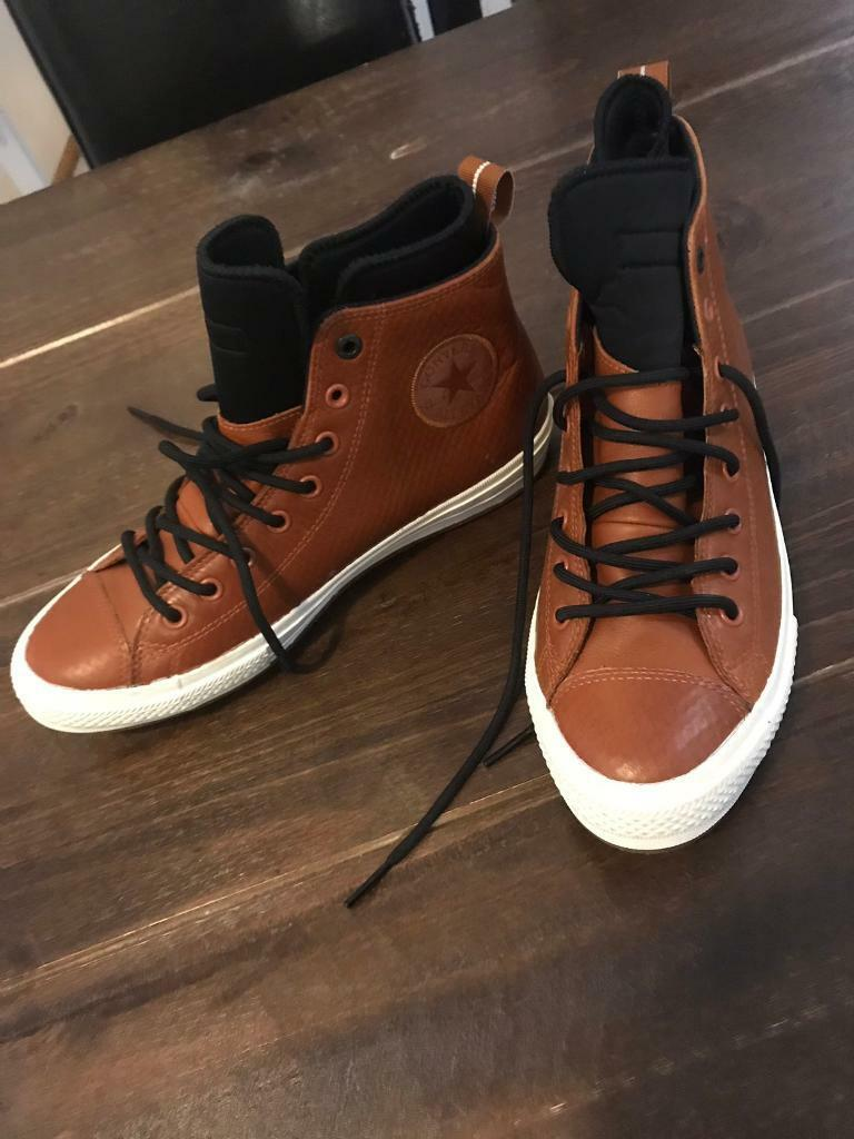 948808aa45 Converse trainers leather uk size 10