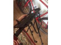 Bike pannier rack rear