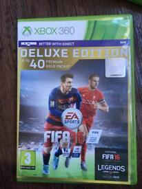 Xbox 360 game Fifa 16 Deluxe Edition