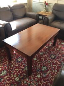 Solid Wood Coffee Table - Ref 4990