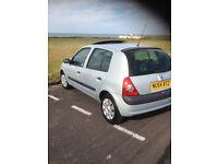 Renault Clio.. 2004.. 1400cc.. 1 Years Mot.. F/s/h.. 5 Door.. V/g/c