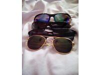 4 pairs of mens shades
