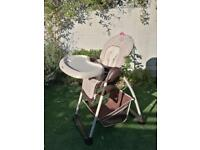 Hauck Sit-n-Relax Highchair with Bouncer Attachment,from Birth