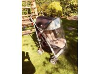 Maclaren Techno XLR Buggy with Lascal buggy board maxi and carry cot - Great condition