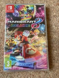 Brand new - Nintendo Switch Mario Kart Deluxe 8