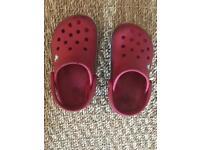 Crocs (toddler size C7)