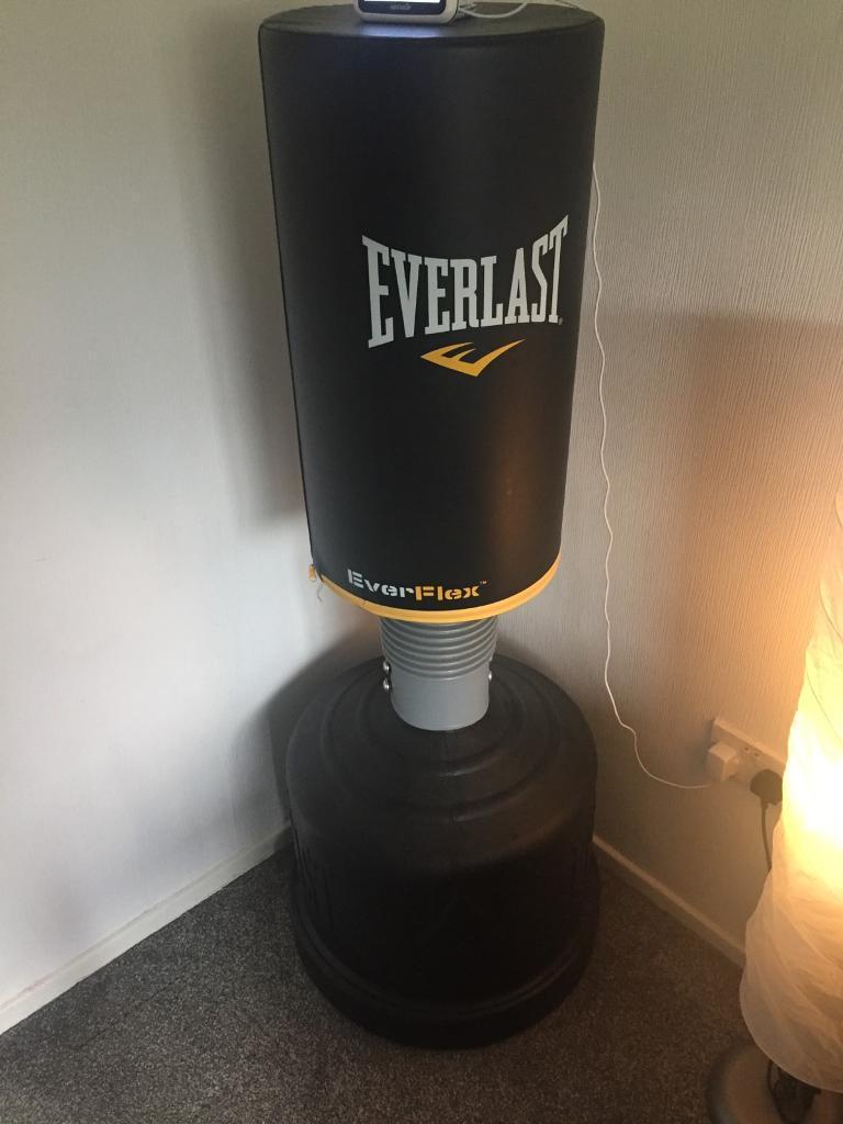 Everlast punching bag like brand new