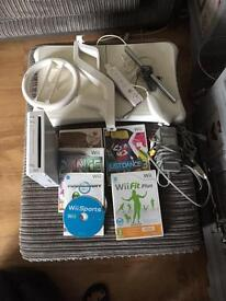 Wii fit bundle including balance board