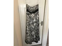 Coast size 16 Black and White Dress