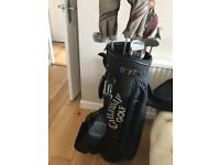 Call away Golf bag with mixed clubs