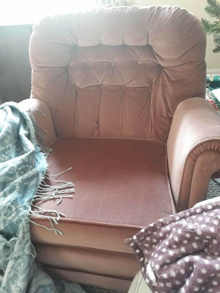 3 seater sofa and arm chair FREE