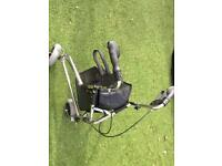 Three wheeled walking aid