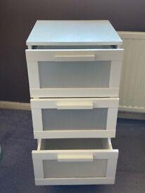 Ikea chest of draws x2