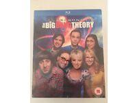 The Big Bang Theory Seasons 1-8 Blu-Ray Box Set BNWP
