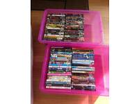 REDUCED 84 DVDs for £20