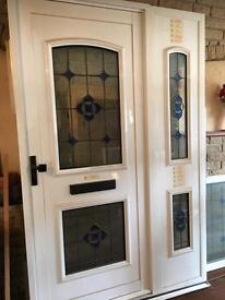 MONO FRAME FRONT DOOR AND SIDE PANEL