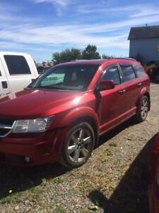 2009 Dodge Journey RT for repair or parts