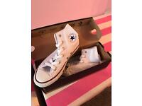 Brand new in box converse size 1 and a half