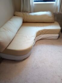 Sofa Bed for small rooms for overnight guests.