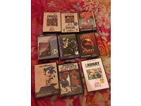 Sega mega drive + games and Nintendo games