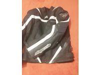 Rk sport moterbike leather jacket