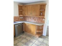 Complete kitchen units for sale excluding grill, oven and dish washer.